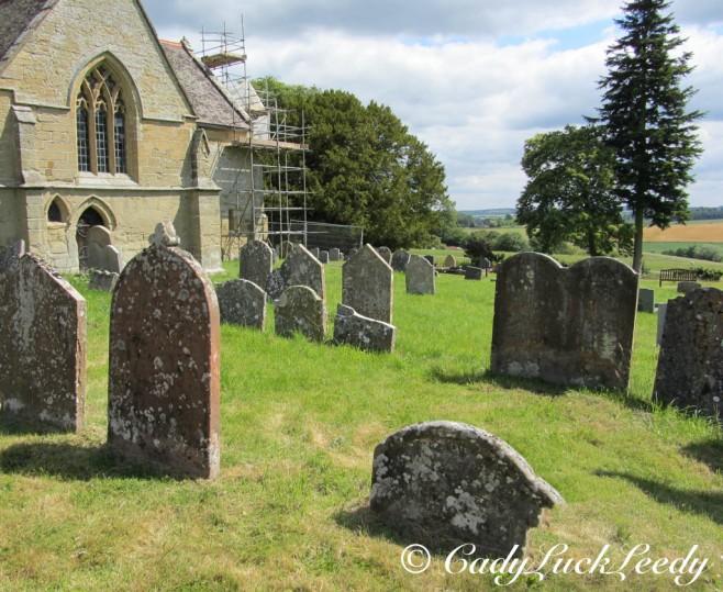 The Gravemarkers, St John's Church, Kinlet, UK