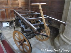An Antique Casket Carrier, St John's Church, Kinlet, UK