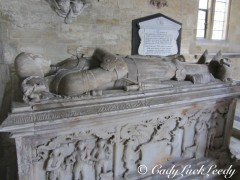 The Blount Monuments, St John's Church, Kinlet, UK