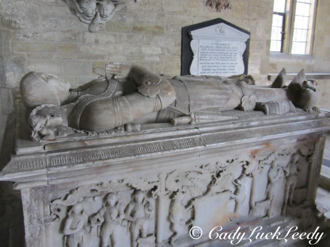 The Blount Monuments, St John's Church, Kinlet, UK