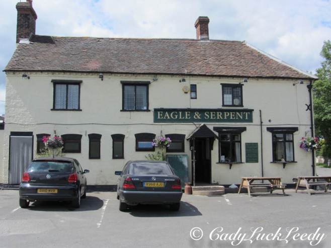 The Eagle and Serpent Pub, Kinlet, Shropshire, UK
