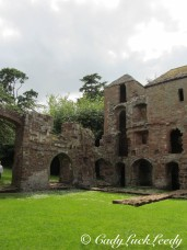 The Remnants of Acton Burnell Castle, England