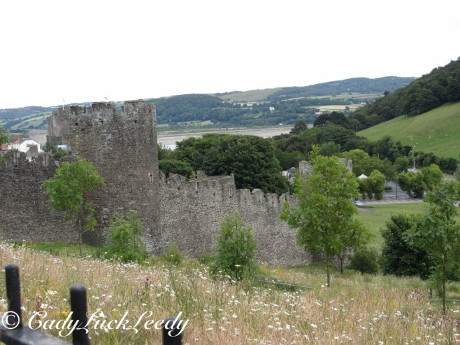 The Castle at Conwy, Wales