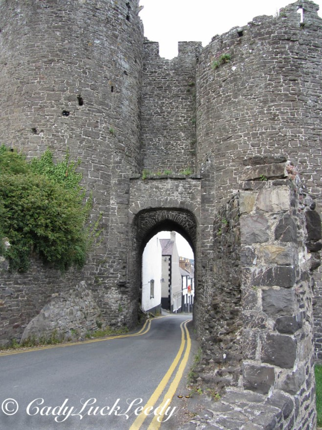 Tight Squeeze! Conwy, Wales