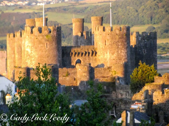 Conwy Castle, Conwy Waless