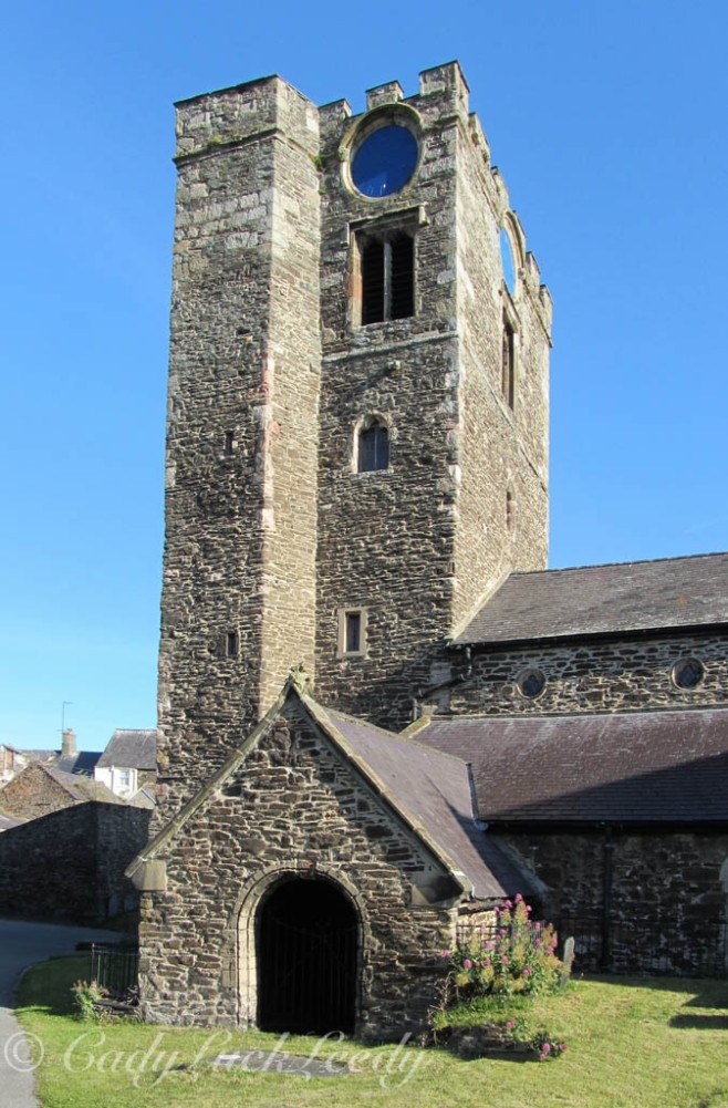 St Mary's Church, Conwy, Wales