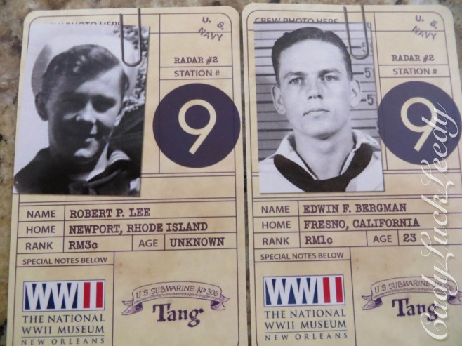 Submarine Sailor ID's