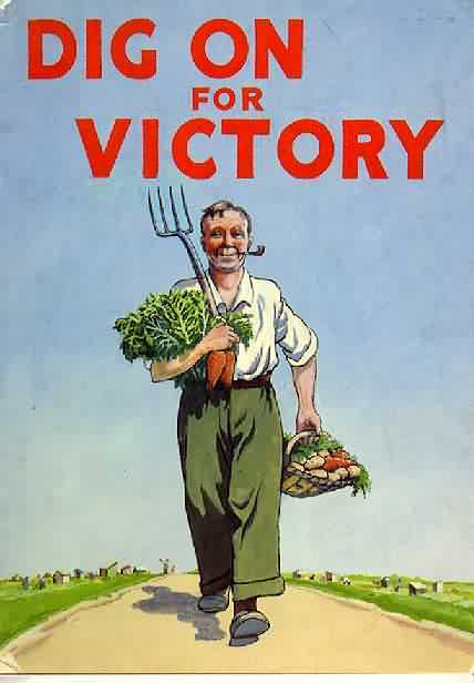 """Dig For Victory, UK WWII poster"""