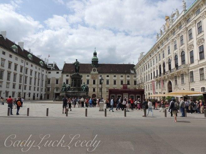 Imperial Apartments, Hofsburg Palace, Vienna, Austria