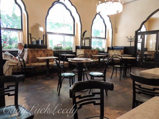 Cafe Tirolerhof, Vienna, Austria