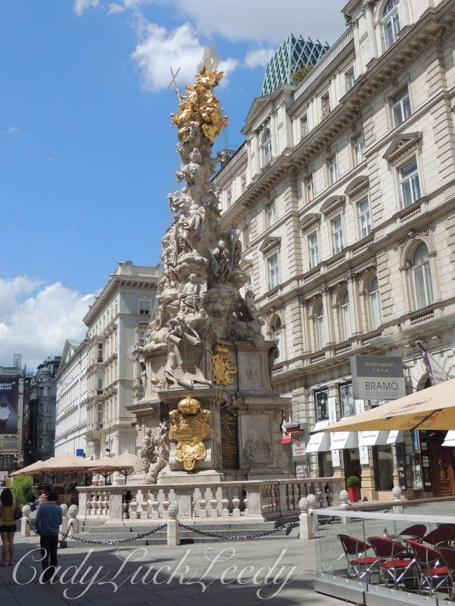 Holy Trinity Plague Column, Vienna, Austria