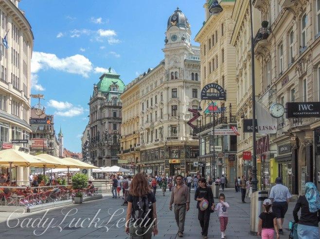 Karntner Strasse, Vienna, Austria