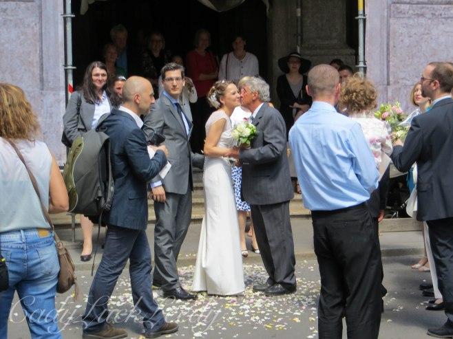 The Wedding Couple, St Peter's Church, Vienna, Austria