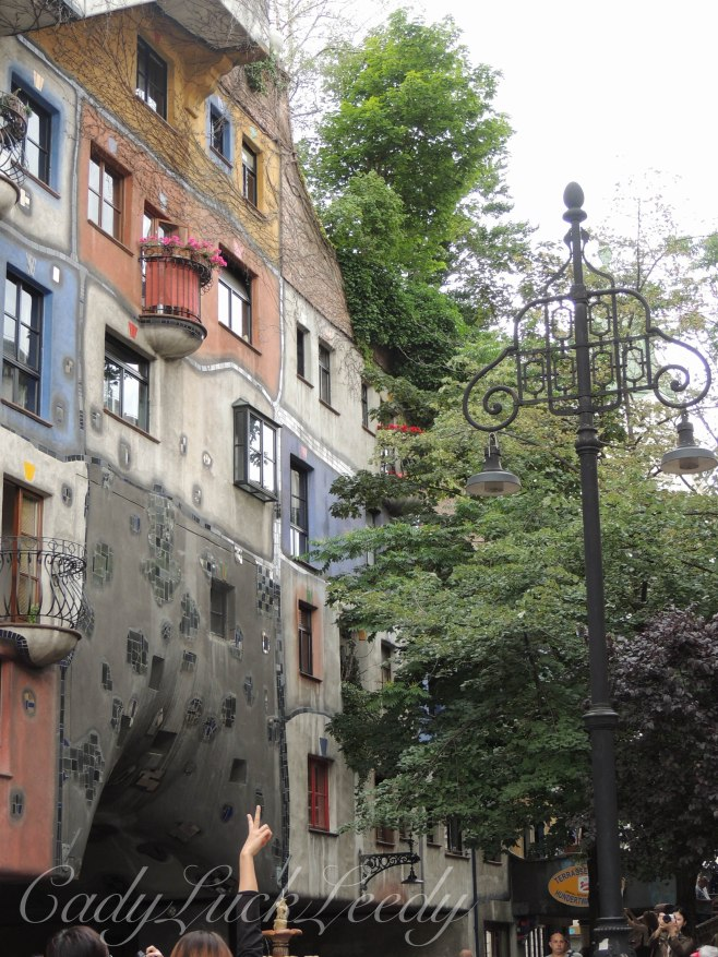 The Hundertwasser Haus Neighborhood, Vienna, Austria