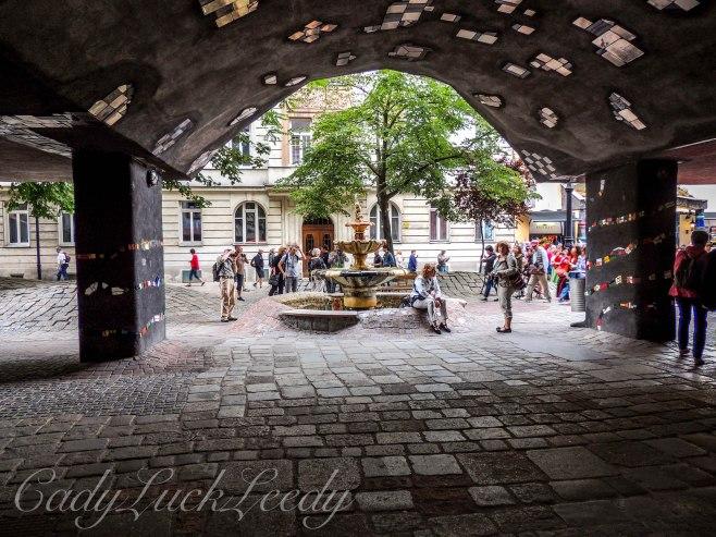The Hundertwasser Haus Neighborhood, Vienna, Austria