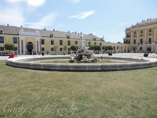 A Fountain at Schönbrunn palace, Vienna, Austria