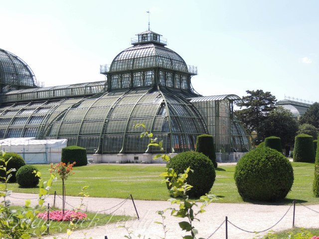 The Palm House, Schönbrunn Palace, Vienna, Austria