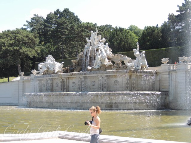 Neptune Fountain, Schönbrunn Palace, Vienna, Austria