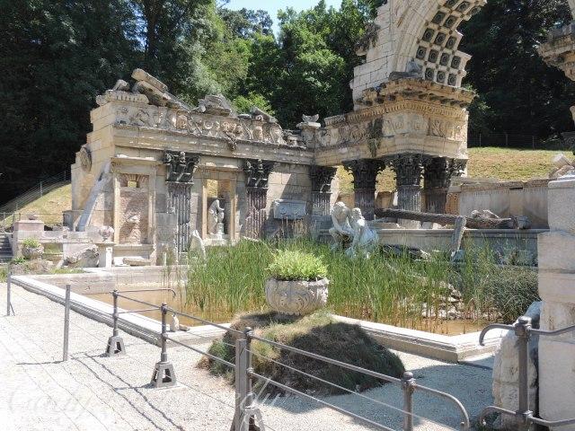"""The Roman Ruins,"" Schönbrunn Palace, Vienna, Austria"