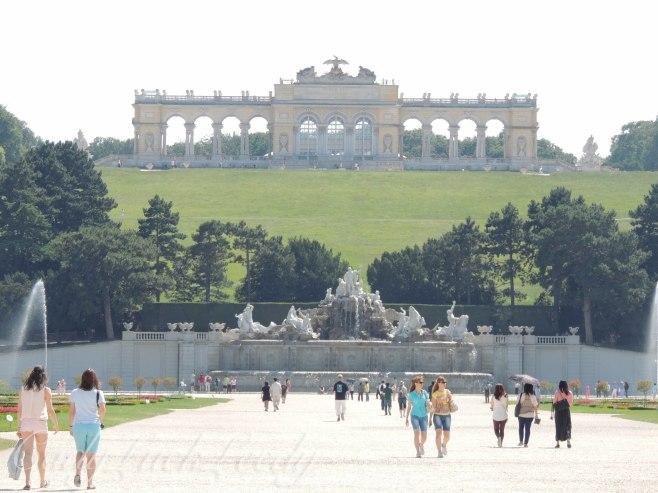 The Gloriette, Schönbrunn Palace, Vienna, Austria