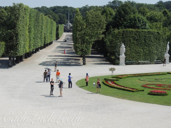 The Gardens of Schönbrunn Palace, Vienna, Austria