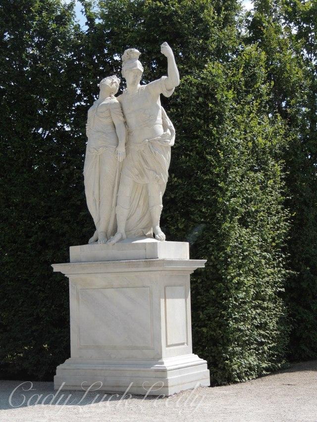 The Gardens of Schönbrunn Palace, Vienna, Austria