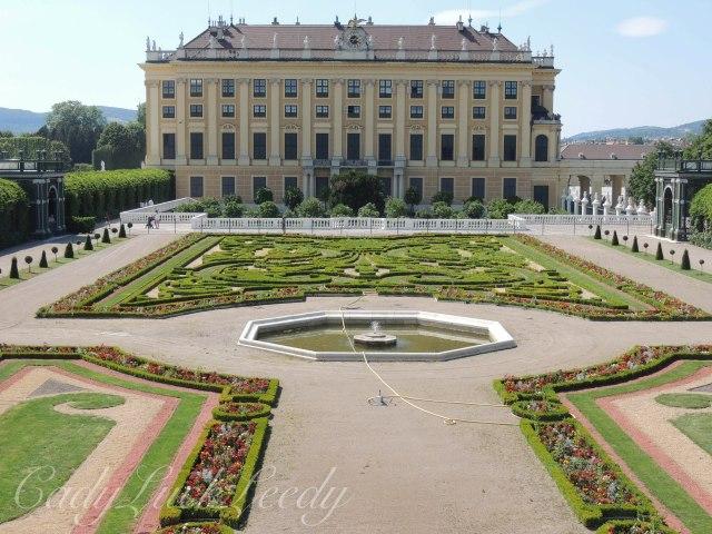 Schönbrunn Palace, Vienna, Austria, Viewed from the Orangery