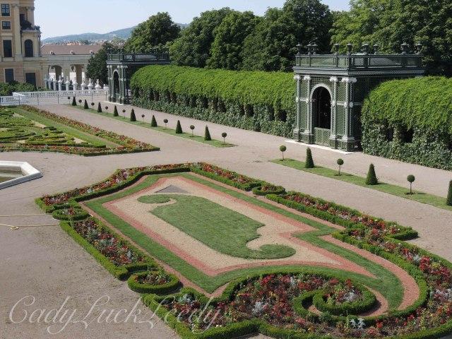 The Gardens at Schönbrunn Palace, Vienna, Austria