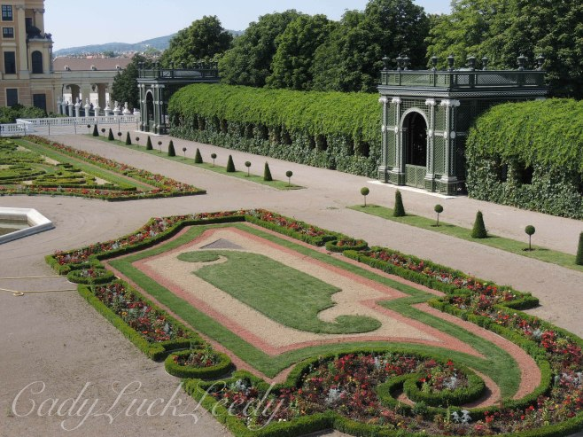 The Gardens at Schönbrunn Palace, Vienna, Austria