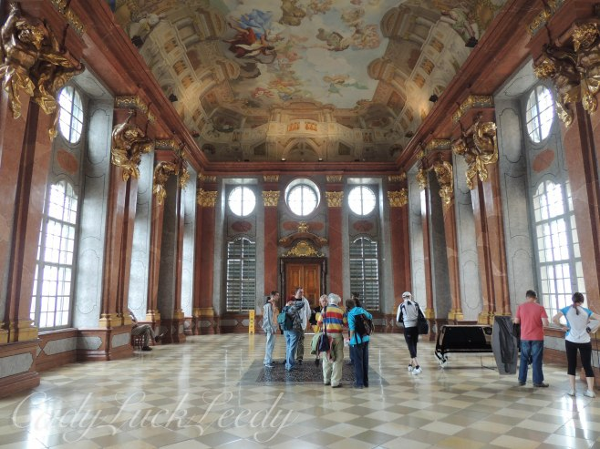 The Dining Room, Melk Abbey, Melk, Austria