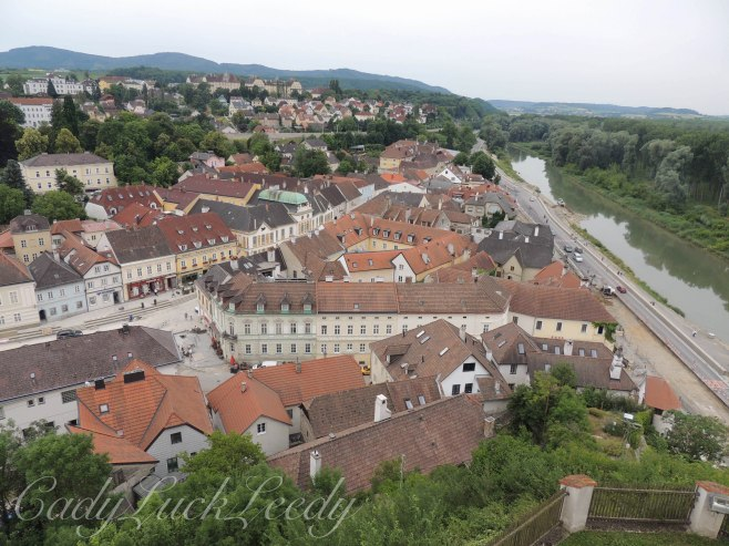 View from Melk Abbey, Melk, Austria