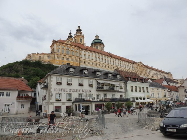 Re-do of Hauptstrasse, Melk, Austria
