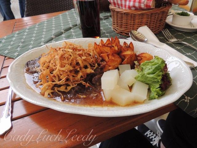 Yum, Yum! At Restaurant zur Post, Melk, Austria