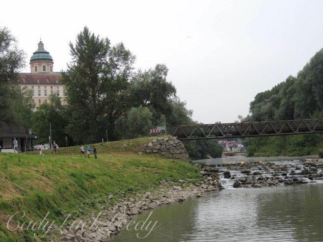 The Walk to the Boat Dock at Melk, Austria