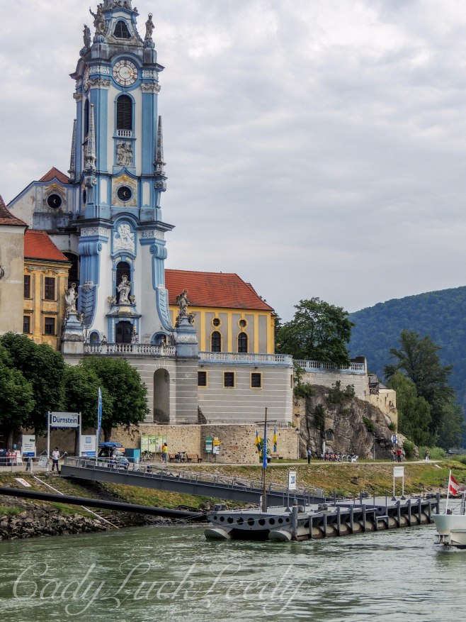 The View from Dürnstein on the Boat to Krems, Austria