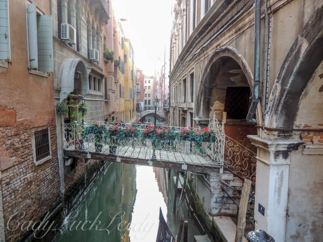The Small Waterways Between the Buildings, Venice, Italy