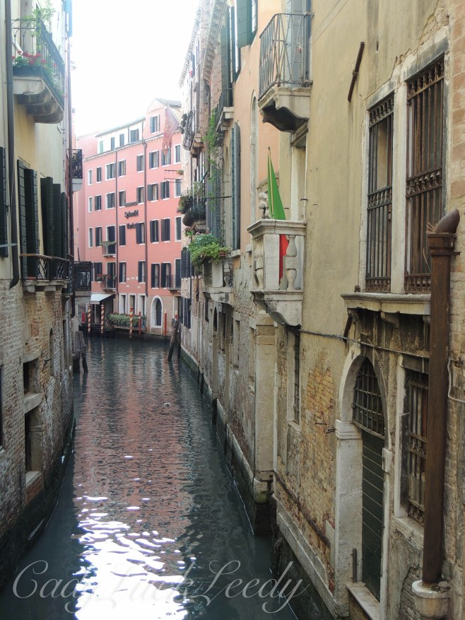 The Waterways of Venice, Italy