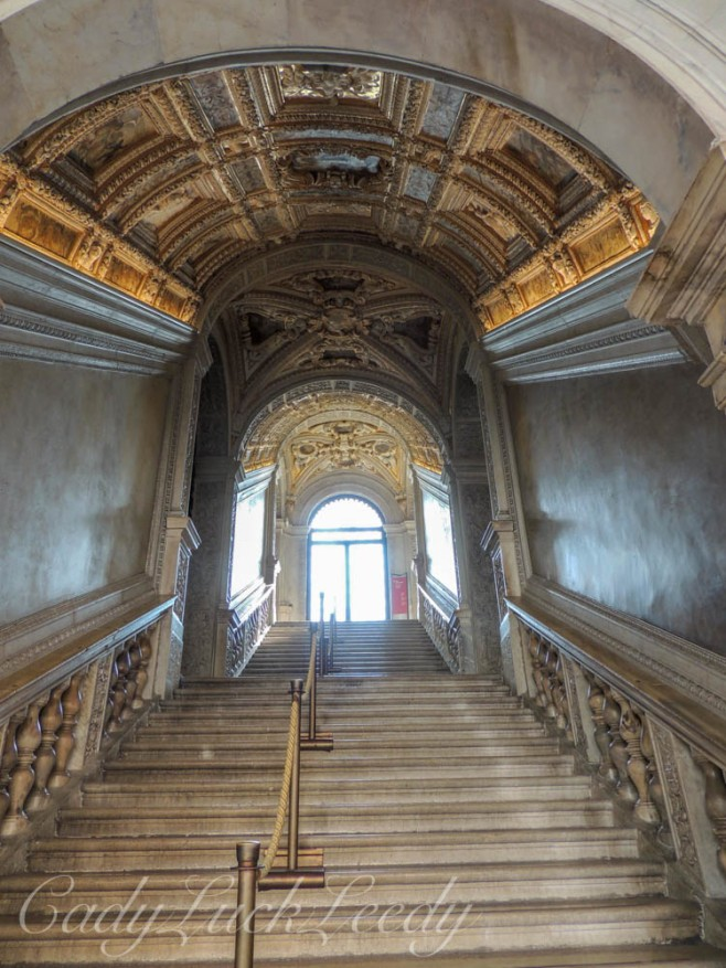 The Main Stairway of the Doge's Palace, Venice, Italy