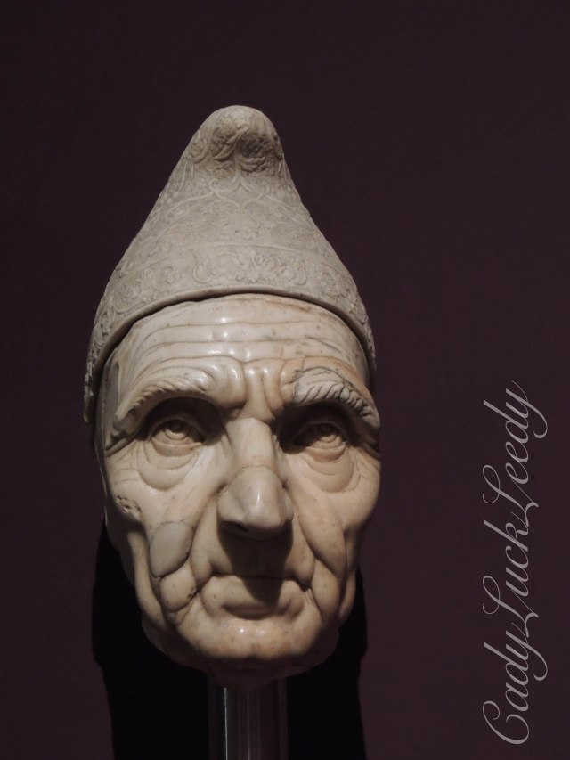 A Marble Sculpture of the Doge of Venice, Italy