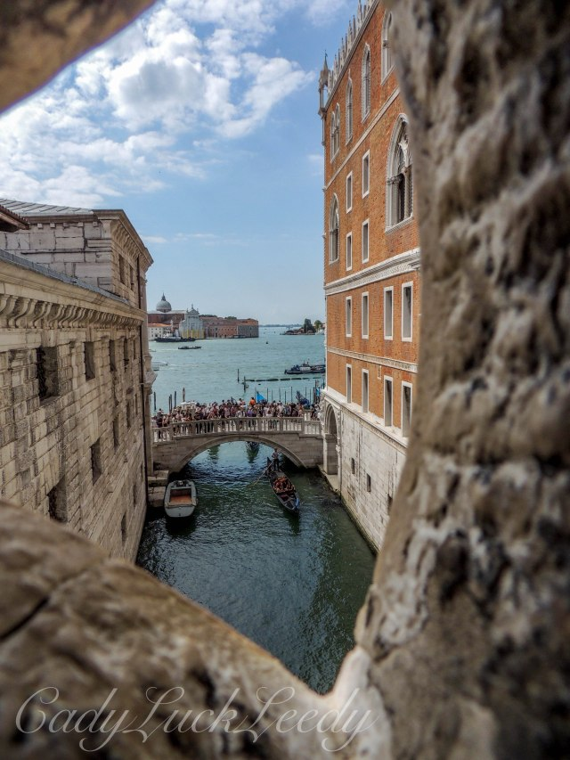 A Look at the Horizon in Venice, Italy