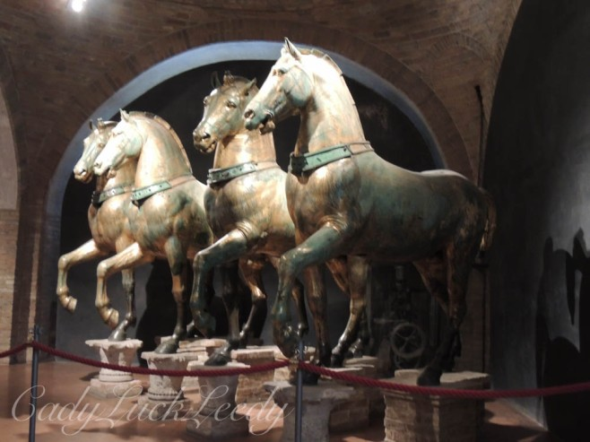 The Original Inside Horses, St Mark's Basilica, Venice, Italy