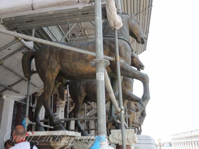 The Outside Horses, St Mark's Basilica, Venice, Italy