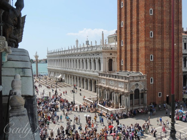 Another View from St Mark's Basilica, Venice, Italy
