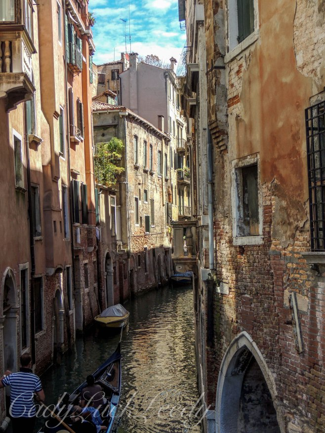 Small Waterways, Venice, Italy