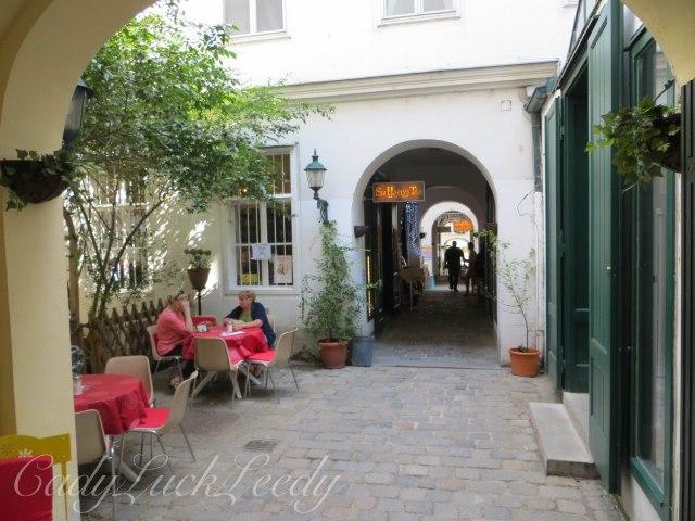 The Lane off Mariahilfer Strasse, Vienna, Austria
