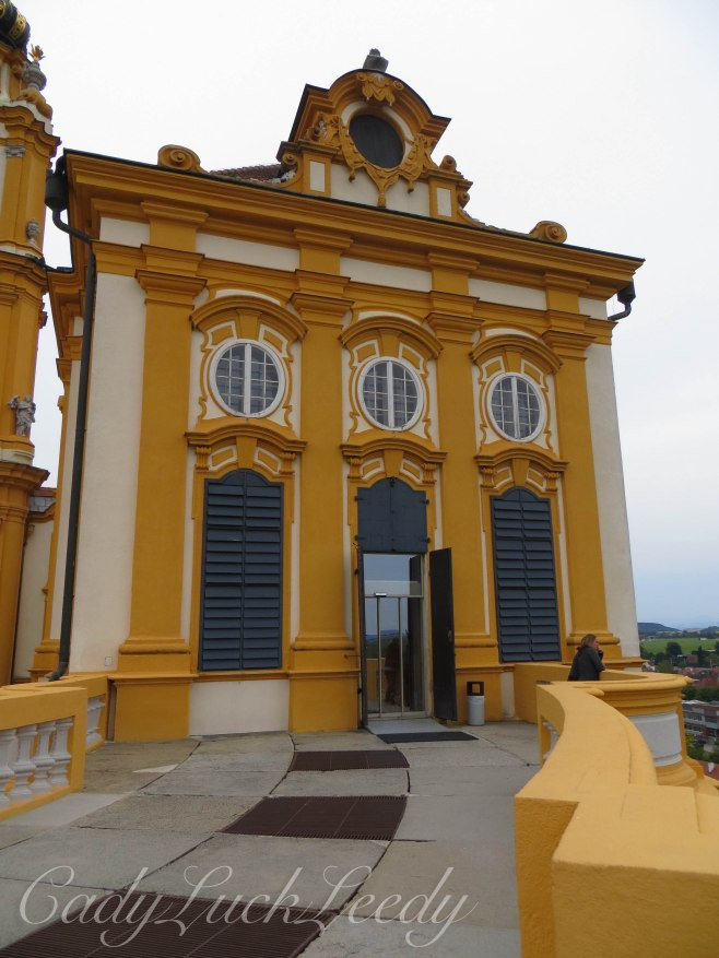The Gold of Melk Abbey, Melk, Austria