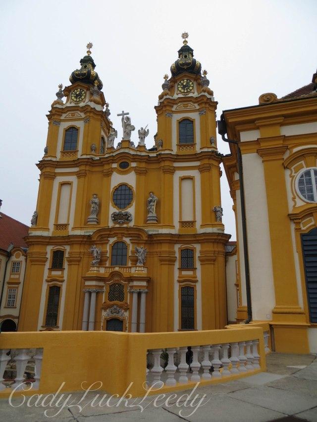The Gold of Melk Abbey, Melk, Austria