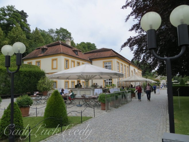 The Restaurant in the Garden, Melk Abbey, Melk, Austria
