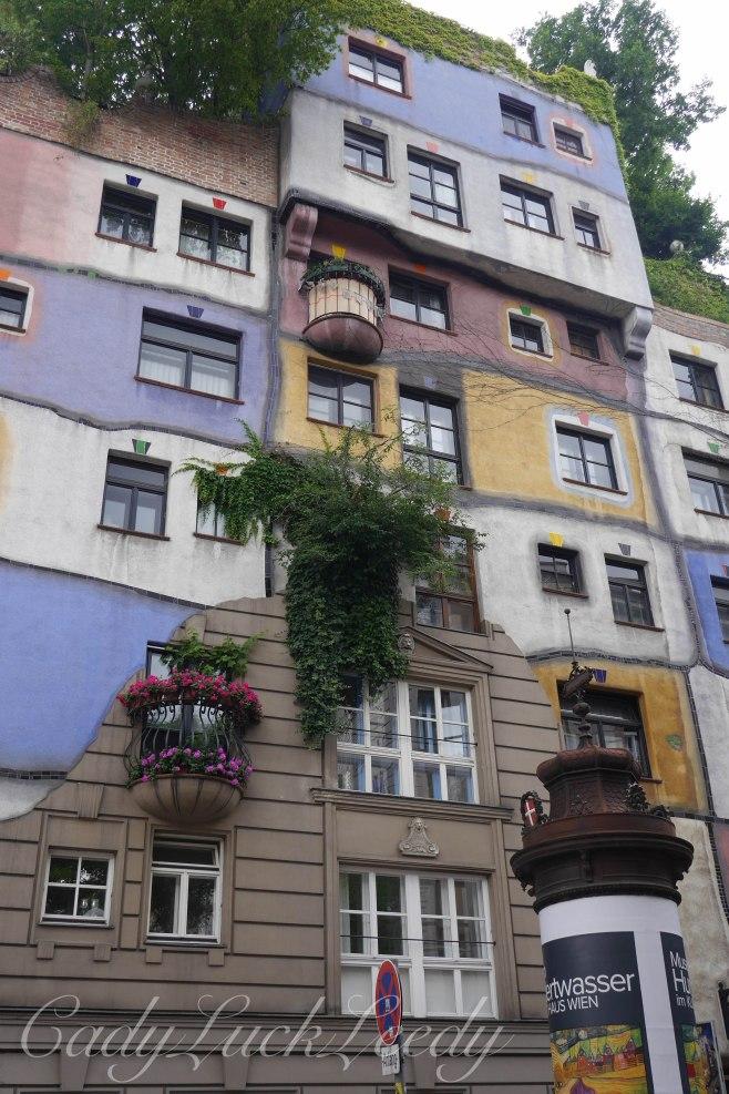 The Hundertwasser Haus, Vienna, Austria