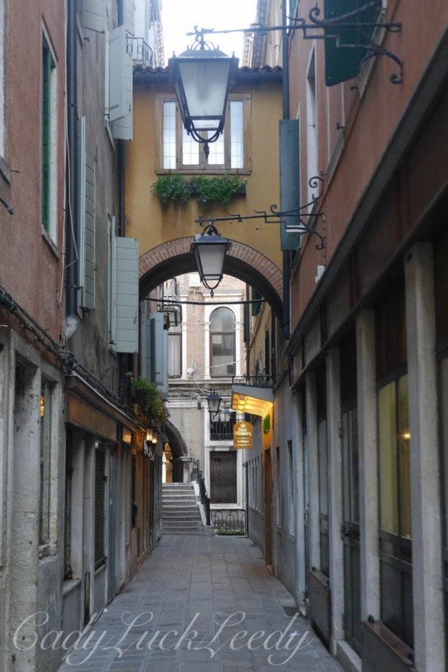 Early Morning Streets of Venice